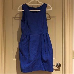 Blue J. Crew Dress